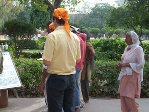 Jem At Jallian Wala Bagh in April 2009